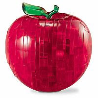 3D Crystal Puzzle- Apple