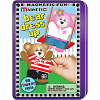 Magnetic Fun Travel Tin- Bear Dress Up