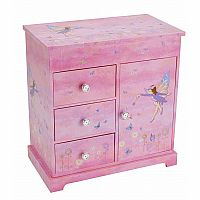 Fairy Music Jewelry Box - 3 Drawer