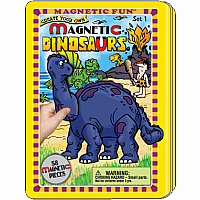 Magnetic Fun Travel Tin- Dinosaurs