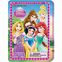 Magnetic Fun Travel Tin- Disney Princess