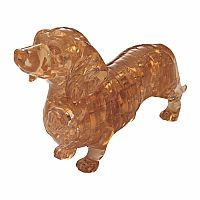 3D Crystal Puzzle- Dachshund