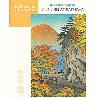 Autumn at Saruiwa Hasui 500pc