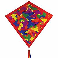 "CAMO CIRCUS 30"" DIAMOND KITE"