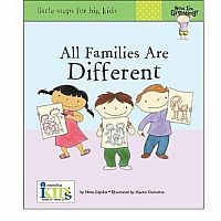Now I'm Growing! Books: All Families Are Different