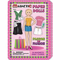 Magnetic Tin Paper Doll Fastion