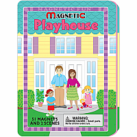 Magnetic Tin Playhouse