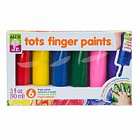Alex Jr. Tots Finger Paints