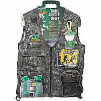 Backyard Safari Camo Cargo Vest