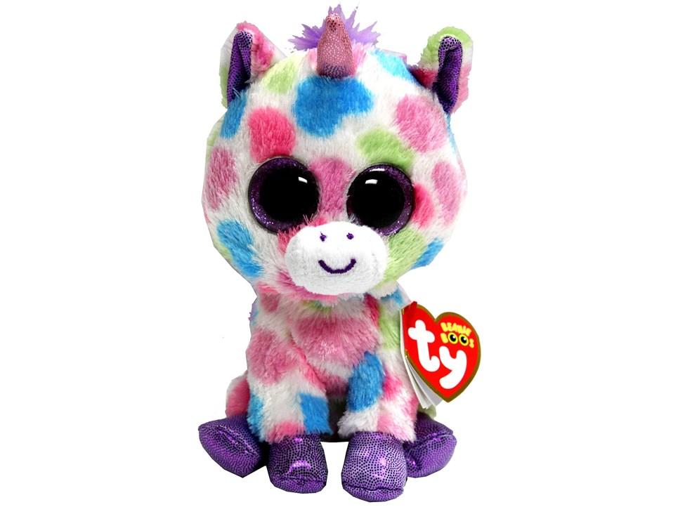 db092ace3d8 Wishful Unicorn Beanie Boos (Small) - Over the Rainbow
