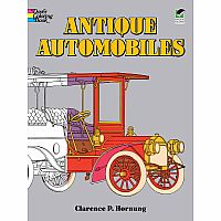 Antique Automobiles Coloring Book
