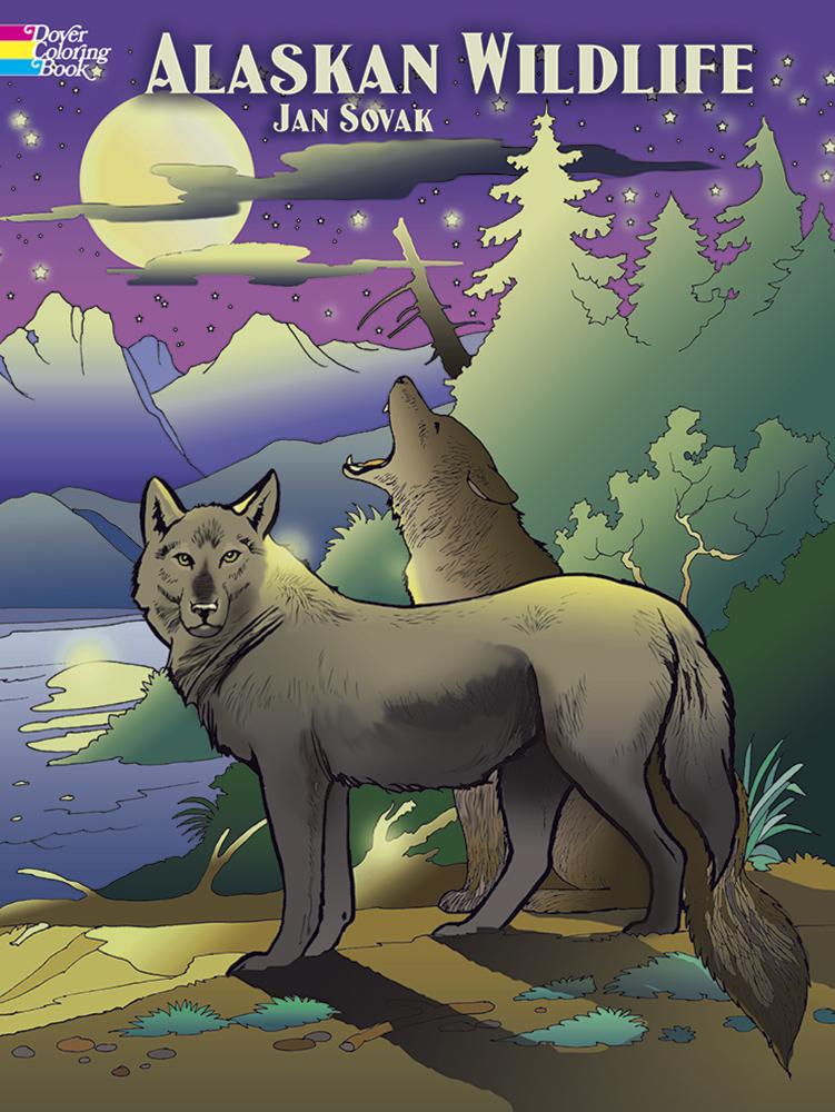- Alaskan Wildlife Coloring Book - Over The Rainbow