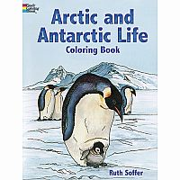 Arctic and Antarctic Life Coloring Book