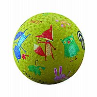 "7"" Woodland Animals Play Ball"