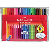 20 GRIP Washable Markers
