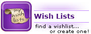 Create a wish list!